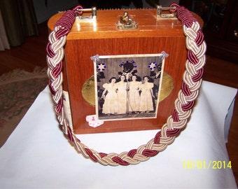 Cigar Box Purse - Customized Cigar Box Purse