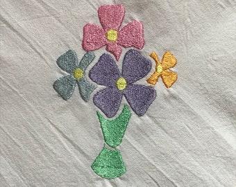 Flower Vase DOWNLOAD DIGITAL Design 4x4