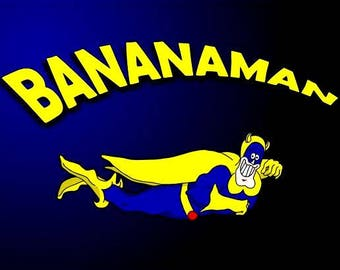 Set of 2 fridge magnets 7.5 cm x 4.5 cm    Danger Mouse And Bananaman