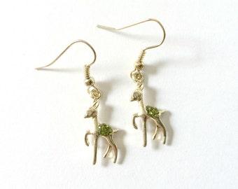 Golden Doe Earrings