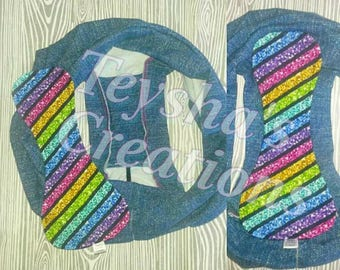 """Pattern and Tutorial for Swappies period panties. 18"""" pattern"""