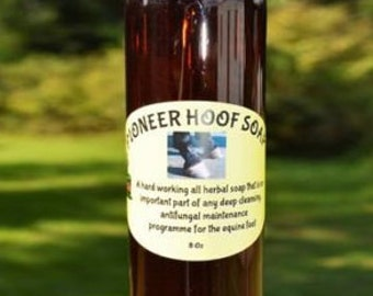 Hoof Soap, All Natural Anti Fungal Hoof Soap for Horses and All Hooved Animals, Organic Equine, Essential Oils