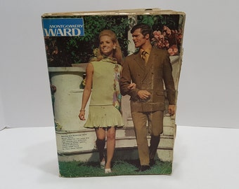 1970 Montgomery Ward Spring Summer Vintage Catalog