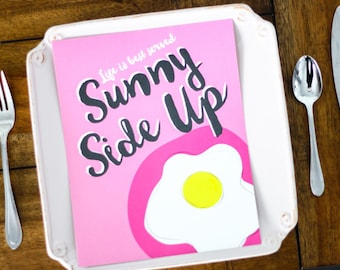 8x10 Sunny Side Up Egg Digital Print