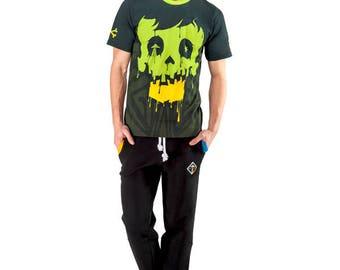 Crystal Skull T-shirt (Green)