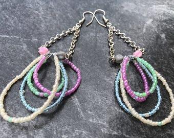 Pastel Dangle earrings