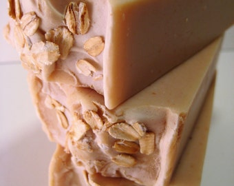 Oatmeal, Milk & Honey Handcrafted Soap