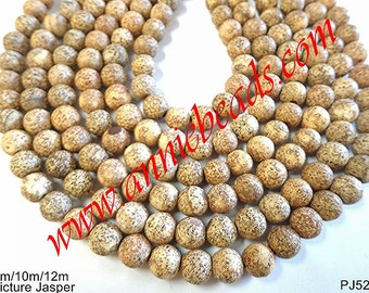Round Spotted Jasper Fall Bead !!!!!