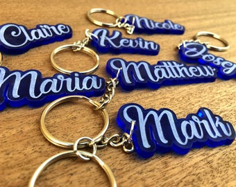 Personalised Keychains with Name