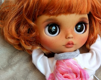 SOLD OUT Blythe custom ooak art doll carving TBL