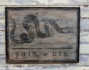 Join or Die, War Snake Sign, Ben Franklin