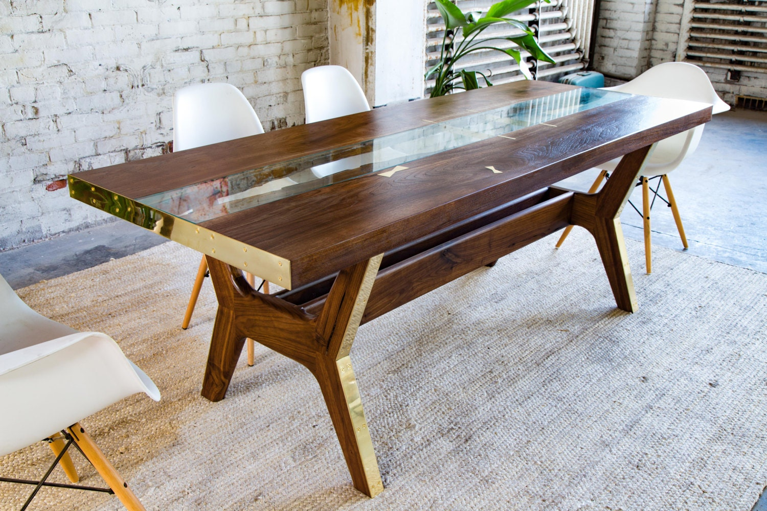 Modern dining table dining table walnut dining table zoom dzzzfo
