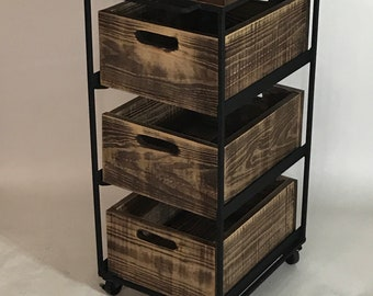 Industrial Storage Cart- Made in USA