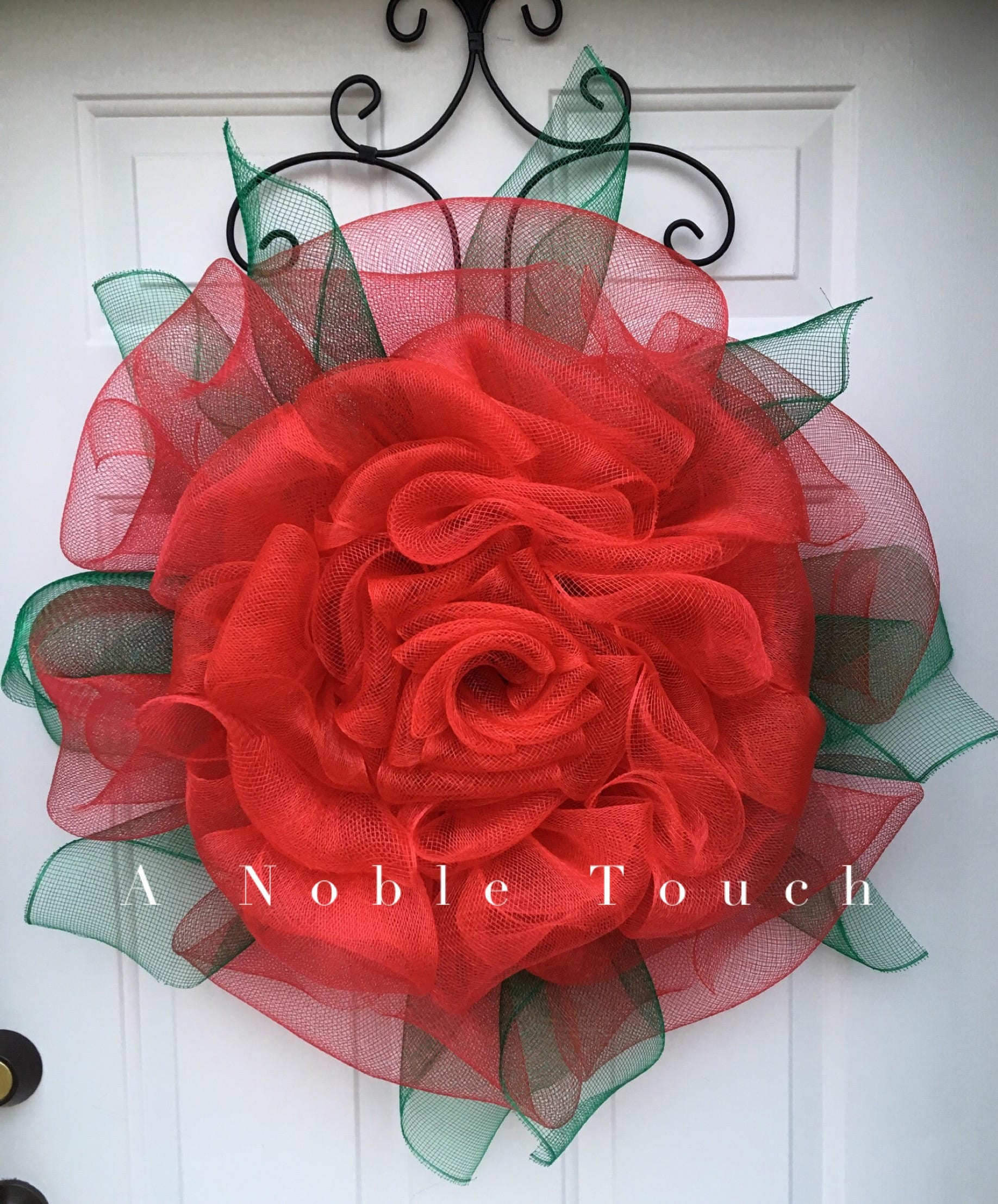 Tutorial for a rose flower by a noble touch diy instructional this is a digital file baditri Gallery
