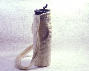 Glass Water bottle with cozy