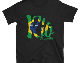 Rio De Janeiro Brasil T Shirt