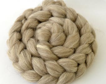 Suffolk and Silk, Wool Combed Top - Heritage Breed - 100 grams