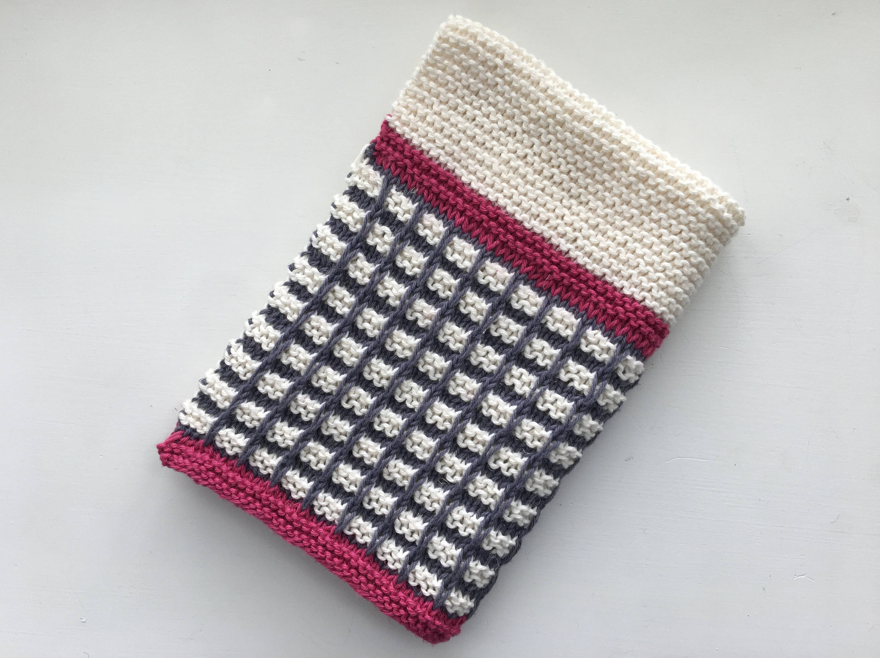 Enchanting Knit Hand Towel Pattern Elaboration - Sewing Pattern for ...
