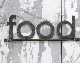 Wall Sign FOOD Decorative Signage