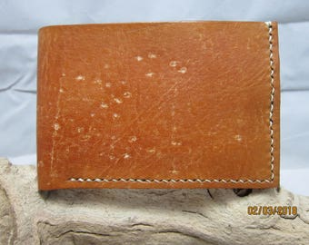 Saddle Tan Leather Wallet