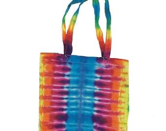 Tie Dye Tote Bag - Stripes