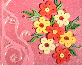 Greeting Card, quilling