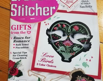 The Cross Stitcher, February 1998, magazine