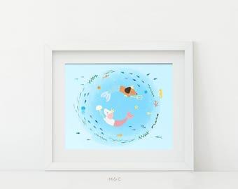 Darby + Dot™ - Merweens - Art Print