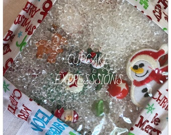 I-Spy Bag - Quiet Time Activity - Eye Spy Look and Find Game - Christmas Print Theme