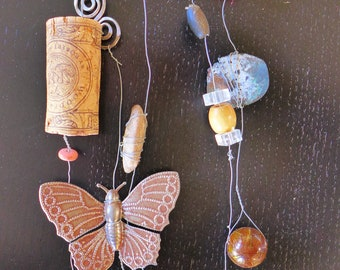 Butterfly Junk Art