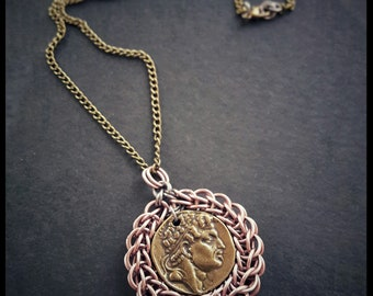 Full Persian Chainmail Medallion