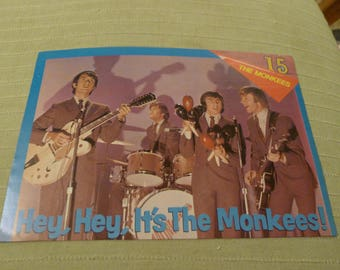 The Monkees CLIPPING fifteen magazine