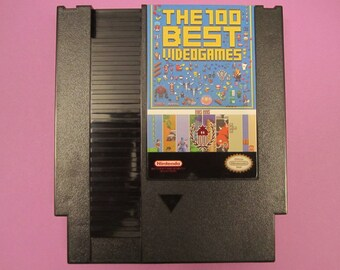 143 in 1 NES Super Games Nintendo Cartridge - 100 Best Video Games - LATEST VERSION with 10 New Games Added for 153 total!