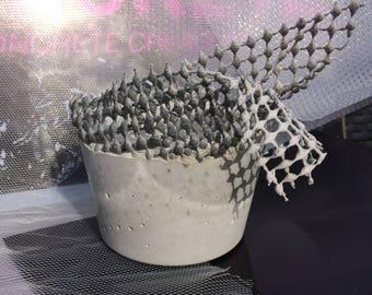 Tactile Concrete Vessel / Pot