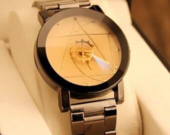 Wristwatch Malloom//Noble design//Unsixex