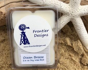 Ocean Breeze 2.6 oz Soy wax Melt
