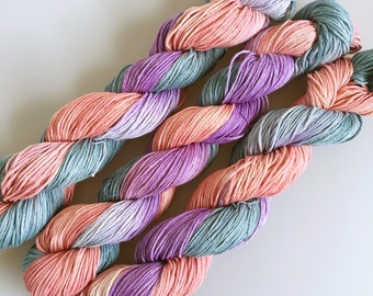 Hand Dyed SuperCotton DK Australian Cotton As Time Goes By  100g 200m