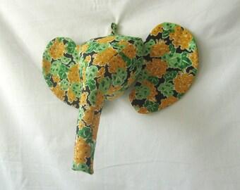 Sewing Pattern Wall Mounted Elephant Head Sewing Pattern PDF