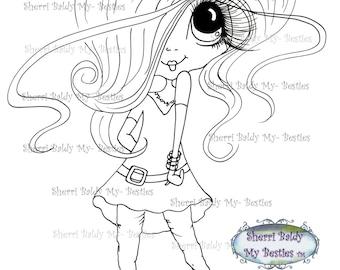 INSTANT DOWNLOAD Digital Digi Stamps Big Eye Big Head Dolls NEW Besties Img976 My Besties By Sherri Baldy