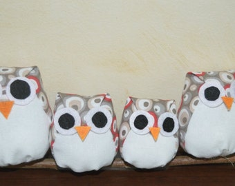 Owls / owls on a branch