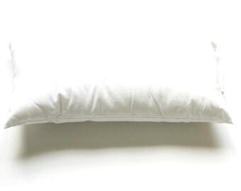 "12 x 24""  faux down pillow insert"
