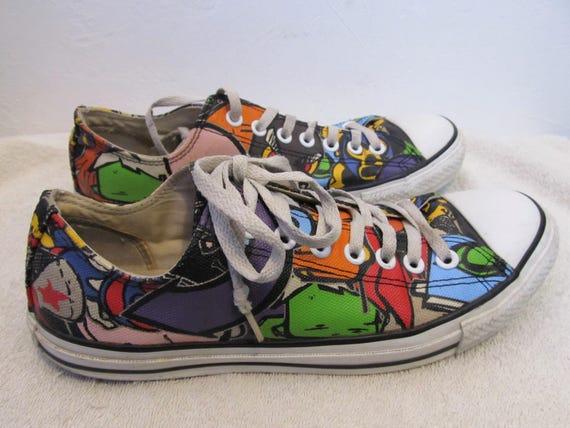 301ba924c95b0 Sneakers CONVERSE 9 Men Wom 11 Star RETRO 5Eur Style CARTOON 42 All ...