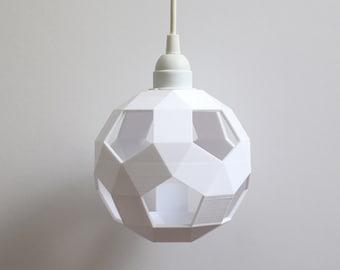 pendant lights, 3d printed, plug in pendant light, hanging lamp, 3d printed lamp, plug in pendant lamp, plug in hanging light, pendant light