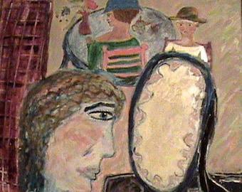 Original painting, Memories of Childhood