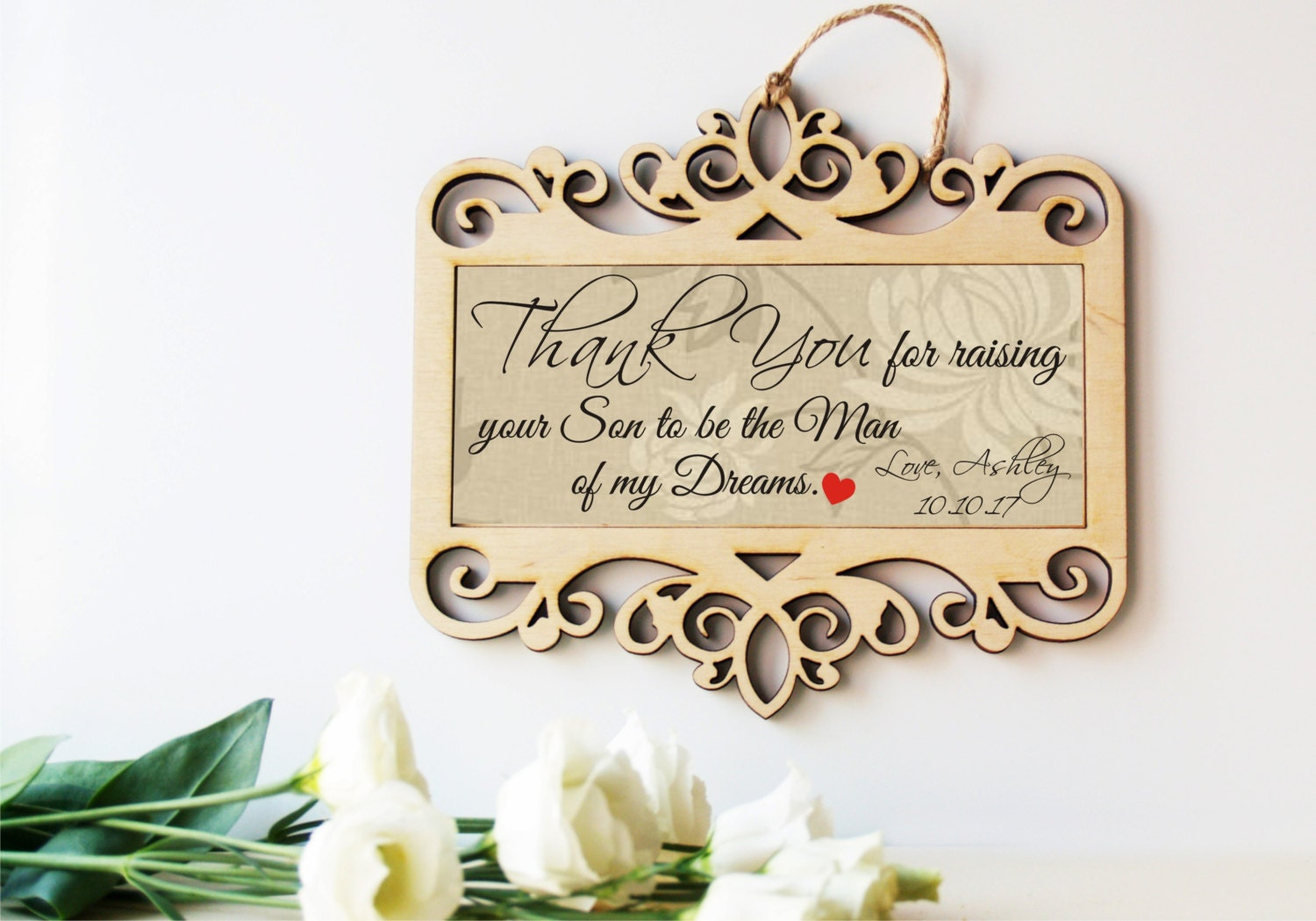 Wedding Sign Mother Of The Groom Gift Father Of The Groom Gift