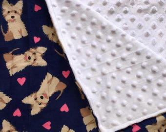 Minky Baby Blanket | Baby Shower Gift