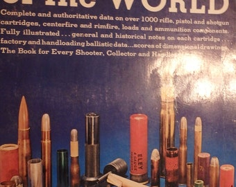 1972 3rd edition Cartridges of the World by frank barnes