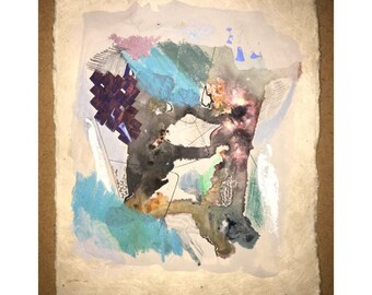 Original mixed media painting