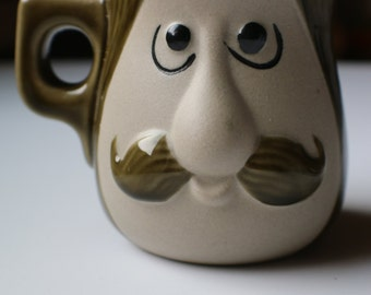 Mustache Man Coffee Cup