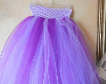 Shades of Purple and Lavendar Adult Tutu Skirt
